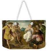 The Contest Between Apollo And Marsyas Weekender Tote Bag