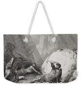 The Conversion Of St. Paul Weekender Tote Bag by Gustave Dore