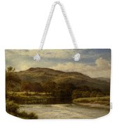 The Conway Near Bettws Y Coed Weekender Tote Bag