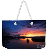 The Cool Of The Evening Weekender Tote Bag