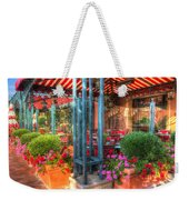 The Corner Cafe Weekender Tote Bag