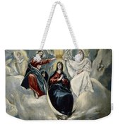 The Coronation Of The Virgin Weekender Tote Bag