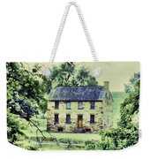 The Cottage Weekender Tote Bag