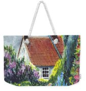 The Cottage Garden Path Weekender Tote Bag