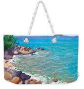 The Cottage View Weekender Tote Bag
