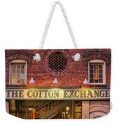 The Cotton Exchange Weekender Tote Bag