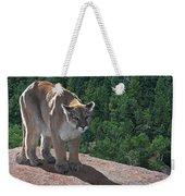 The Cougar 1 Weekender Tote Bag