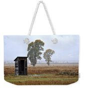 The Country Outhouse Weekender Tote Bag