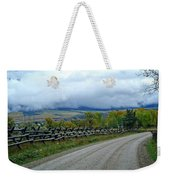 The Country Road Weekender Tote Bag