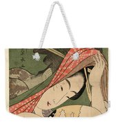 The Courtesan Tsukasa From The Ogiya House Tanabata. Star Festival  Weekender Tote Bag