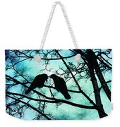 The Courtship Of Crows Weekender Tote Bag