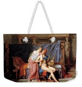 The Courtship Of Paris And Helen Weekender Tote Bag