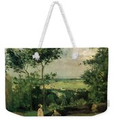 The Courtyard At Louveciennes Weekender Tote Bag