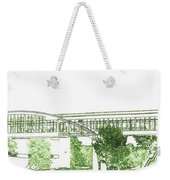 The Covered Bridge Weekender Tote Bag