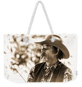 The Cowboy Angler Weekender Tote Bag