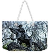 The Cowboy Weekender Tote Bag by Bill Cannon