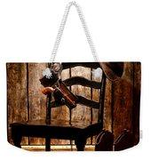 The Cowboy Chair Weekender Tote Bag