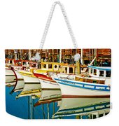 The Crab Fleet Weekender Tote Bag by Bill Gallagher