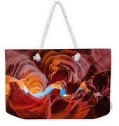 The Crack In The Sky Weekender Tote Bag
