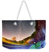 The Craggy Pinnacle Tunnel On The Blue Ridge Parkway  Weekender Tote Bag