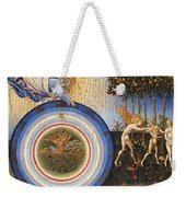 The Creation Of The World And The Expulsion From Paradise Weekender Tote Bag