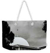 The Crescent And Star Weekender Tote Bag
