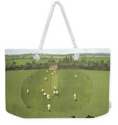 The Cricket Match Weekender Tote Bag