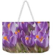 The Crocus Flowers  Weekender Tote Bag
