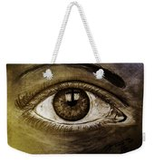 The Cross Eye Weekender Tote Bag