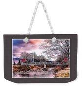 The Crossing II Brenton Woods Nh Weekender Tote Bag