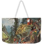 The Crossing Of The Alps, Illustration Weekender Tote Bag