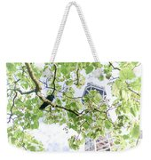 The Crow And The Eiffel Tower Weekender Tote Bag