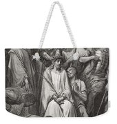 The Crown Of Thorns Weekender Tote Bag by Gustave Dore