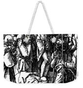 The Crucifixion Weekender Tote Bag by Albrecht Durer