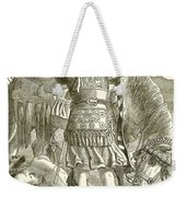 The Crucifixion Weekender Tote Bag by English School