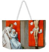 The Crucifixion With The Virgin And Saint John The Evangelist Mourning Weekender Tote Bag