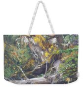 The Crying Log Weekender Tote Bag