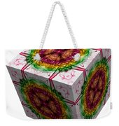 The Cube 5 Weekender Tote Bag