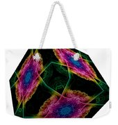 The Cube 9 Weekender Tote Bag