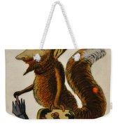 The Cunning Fox Weekender Tote Bag