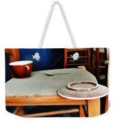 The Cup Saucer And Spoon Weekender Tote Bag