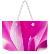 The Cyclamen That Fought Back Weekender Tote Bag