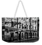 The Czech Inn - Dublin Ireland In Black And White Weekender Tote Bag