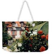 The Dahlias Garden At Petit Gennevilliers Weekender Tote Bag
