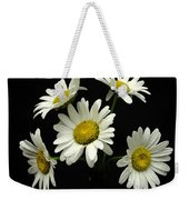 The Daisy Five  Weekender Tote Bag
