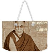 The Dalai Lama Weekender Tote Bag