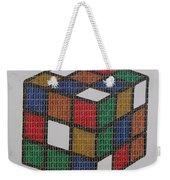 The Dammed Cube Weekender Tote Bag