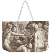 The Danaids Condemned To Fill Bored Vessels With Water Weekender Tote Bag