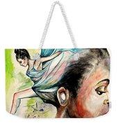 The Dancer In Me Weekender Tote Bag