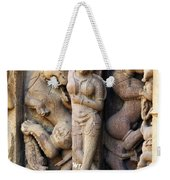 The Dancer In Stone Weekender Tote Bag by C H Apperson